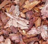 Садовые декорации и Полив|Кора лиственницы   2-5 (60л) (Мульча)