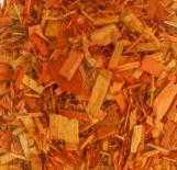 Щепа декоративная оранжевая 60л