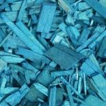 Щепа декоративная синяя 60л